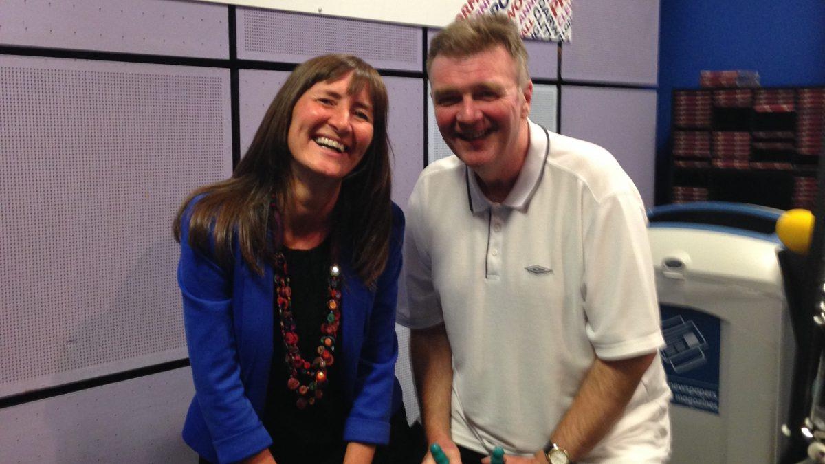 Happy Karen at BBC