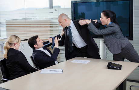 Conflict At Work Office politics in top gear - how to navigate the world of office politics, difficult personalities and leadership.