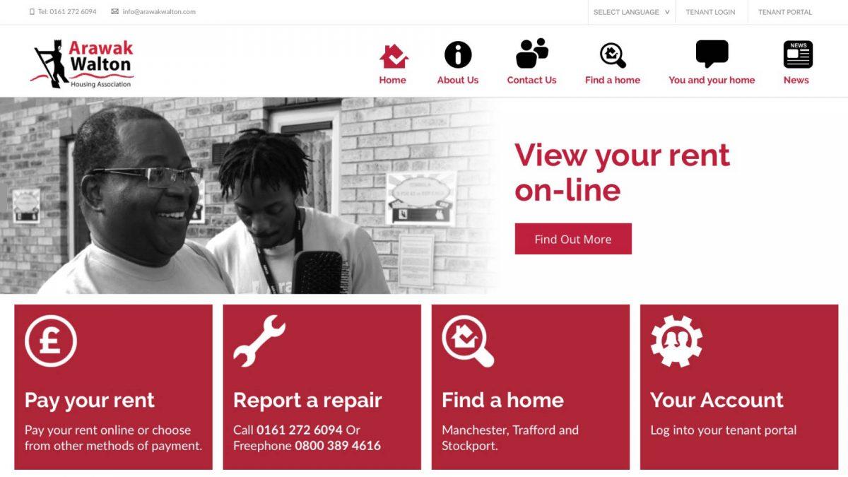 Arawak Walton Website Design