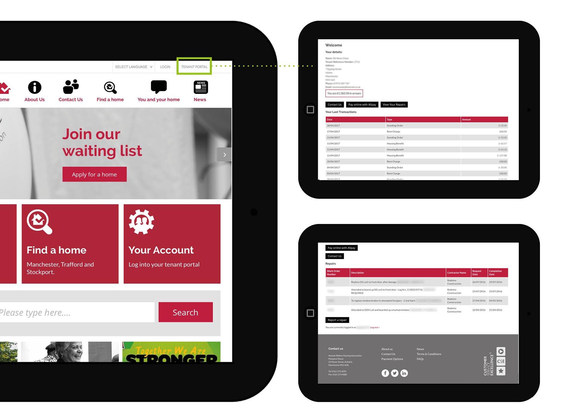 Website, Build & Maintenance – Arawak Walton