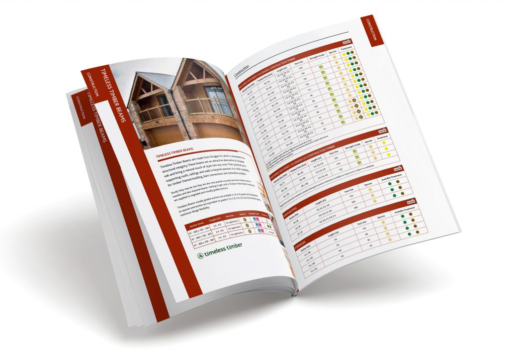 BSW Timber Brochure Spread Design