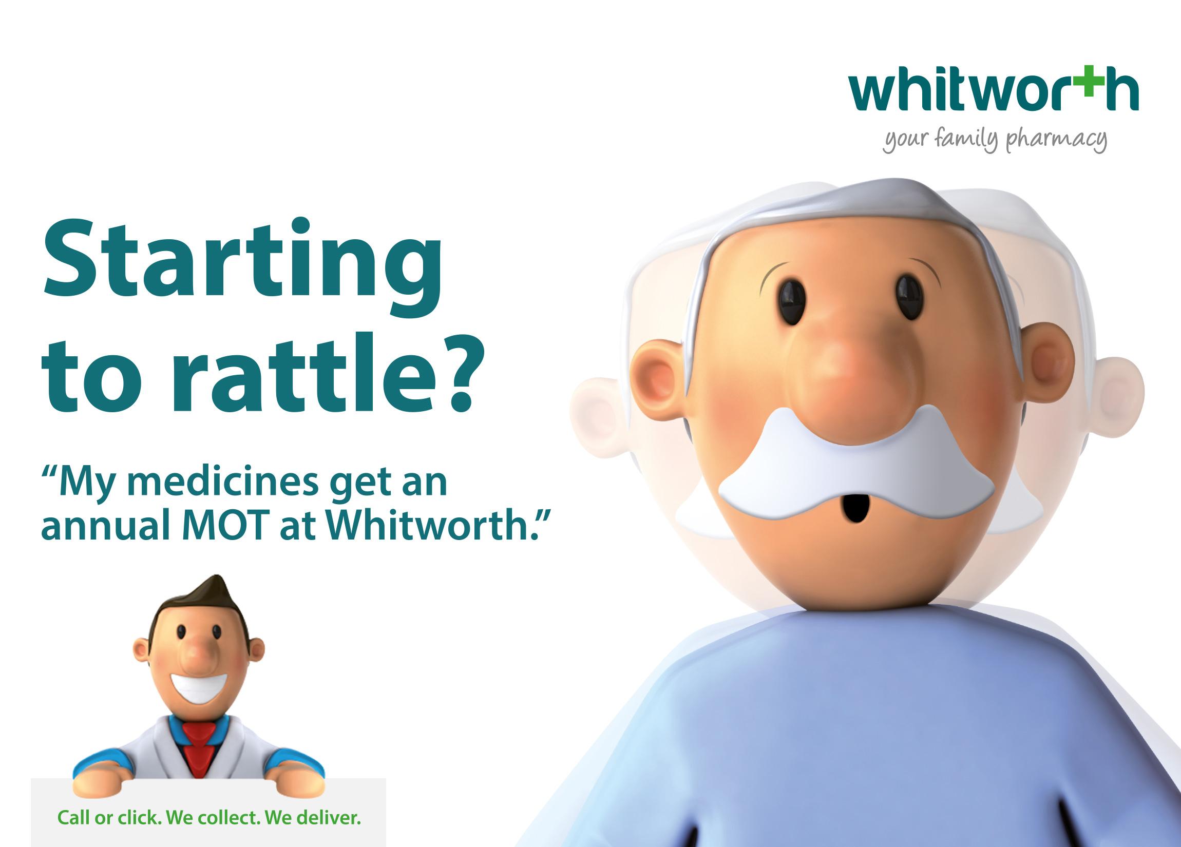 Brand Building – Whitworth Family Pharmacy