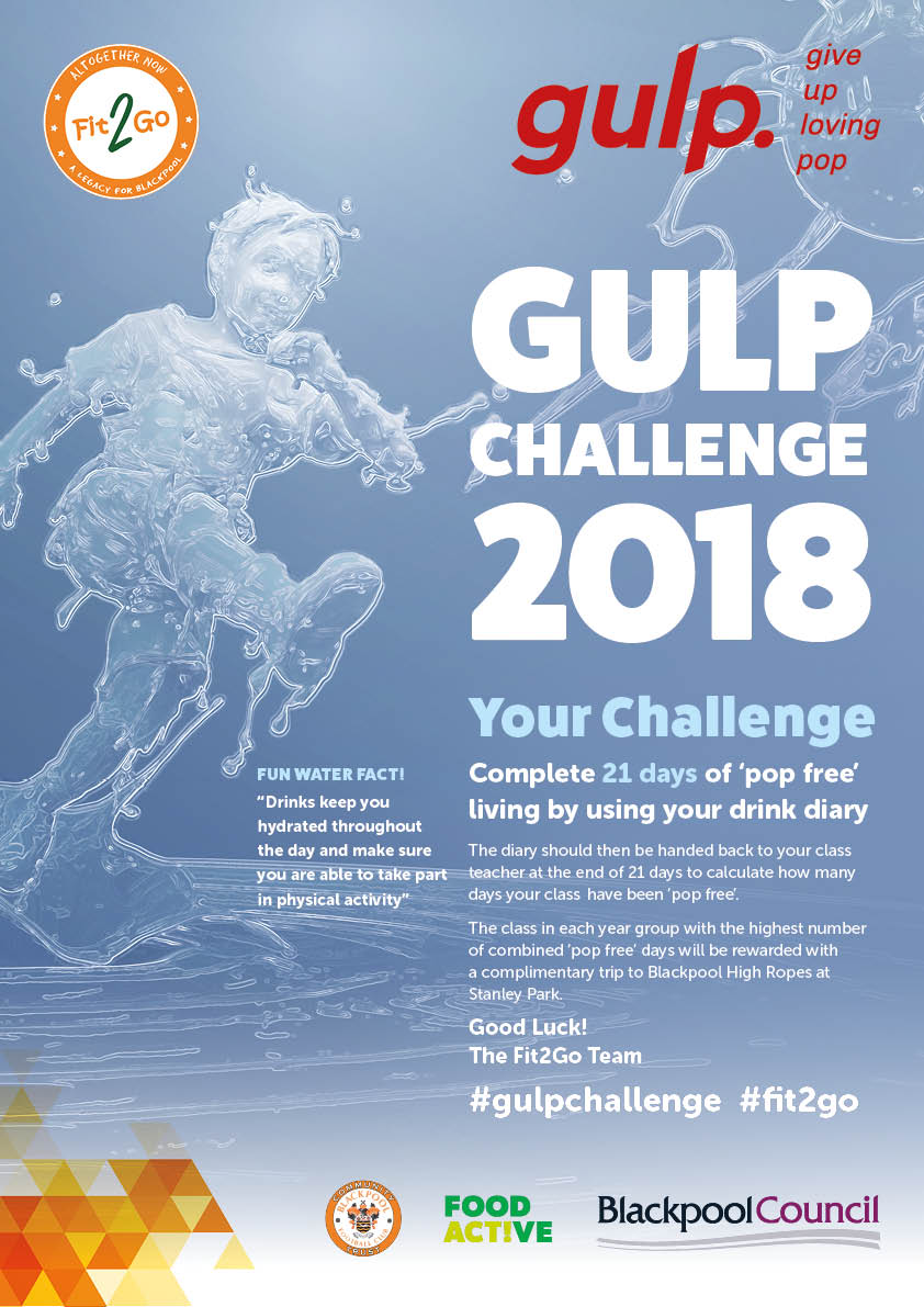 GULP Campaign Poster Design for Public Health