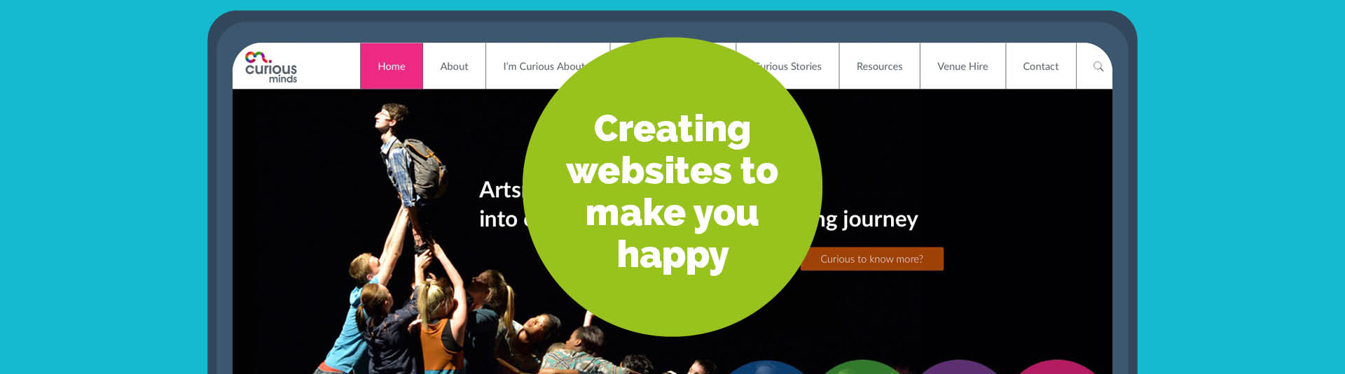 Creating websites to make you happy