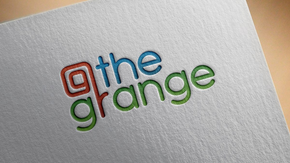 Branding for @the grange, blackpool