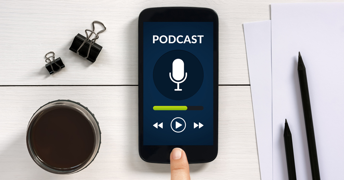 5. Podcast on the move